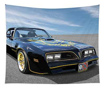 Smokey And The Bandit Trans Am Tapestry
