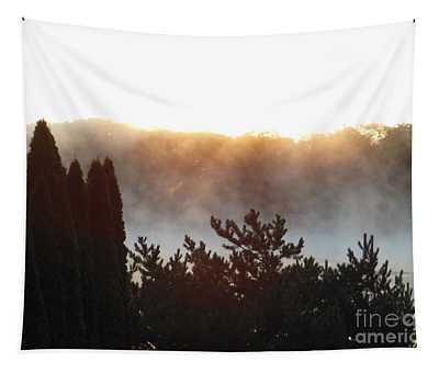 Smokey Morning Glory Tapestry