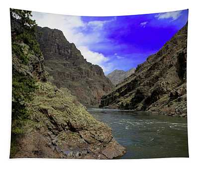 Snake River Hells Canyon Tapestry