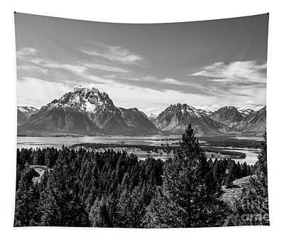Snake River Teton Mountains Tapestry