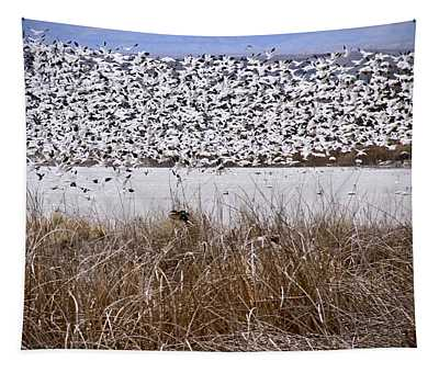 Snow Geese Migration Tapestry