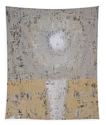 Snow Moon Original Painting Tapestry