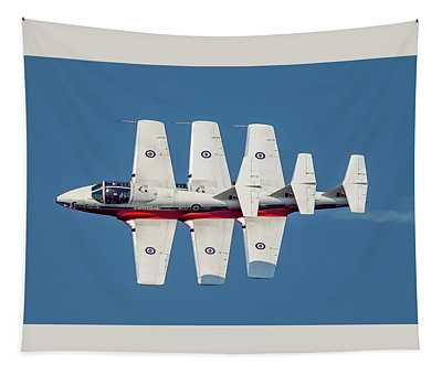 Snowbirds 3 In A Row  Tapestry