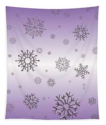 Snowflakes  Tapestry
