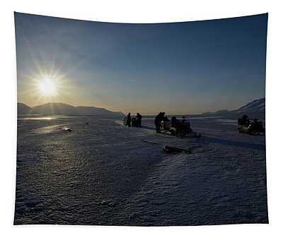 Snowmobile Expeditions Tapestry