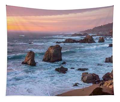 Soberanes Sunset Tapestry