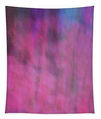 Soft Flowing Pastel Abstract Line Background With Pinks, Blues And Purple Tapestry
