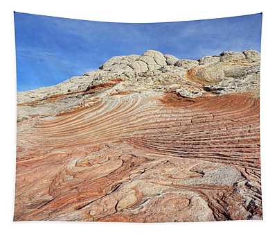 Solid Waves Pano Tapestry