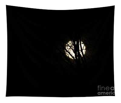 Solstice Moonset Tapestry