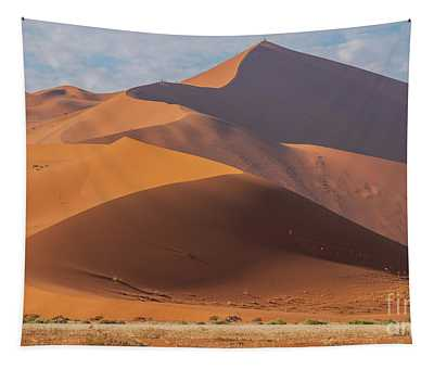 Sossusvlei Namibia Climbing Big Daddy Tapestry