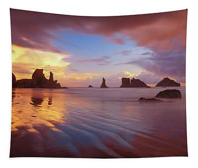 South Coast Sunset Tapestry