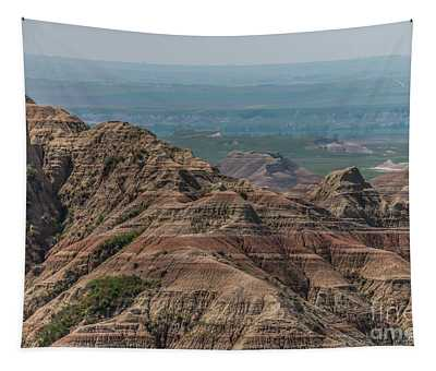 South Dakota Badlands Tapestry