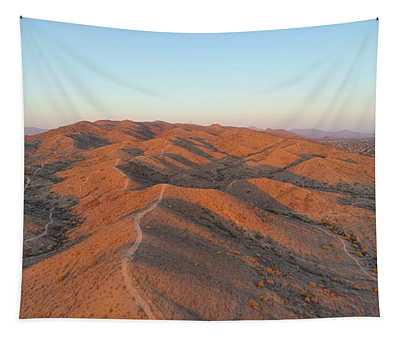 South Mountain Sunrise Tapestry