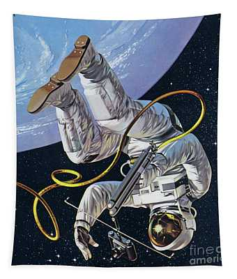 Space Walk Tapestry
