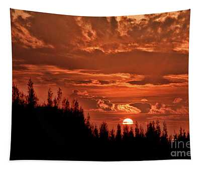 Special China Sunrise Tapestry