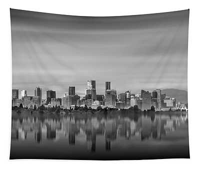 Special View Of Downtown Vancouver Tapestry