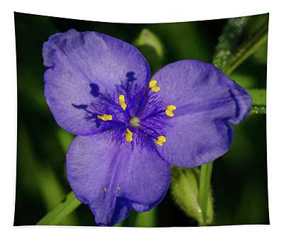 Spiderwort Flower Tapestry