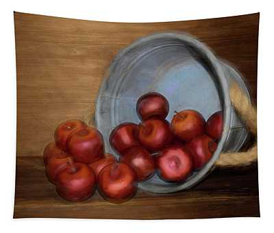 Spilled Apples Tapestry