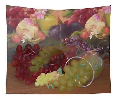 Spilled Grapes Tapestry