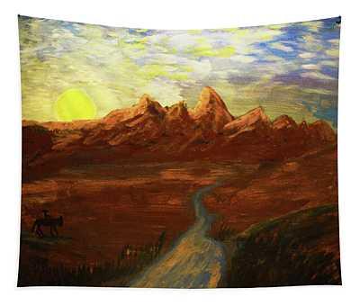 Spirit Of Wyoming Tapestry