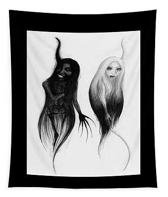 Spirits Of The Twin Sisters - Artwork Tapestry