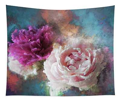 Splashed In Colors Tapestry