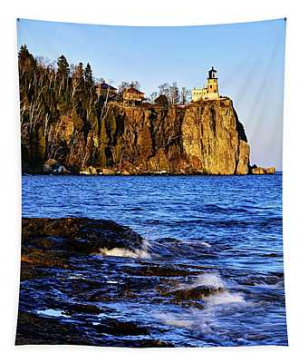 Split Rock Lighthouse Tapestry