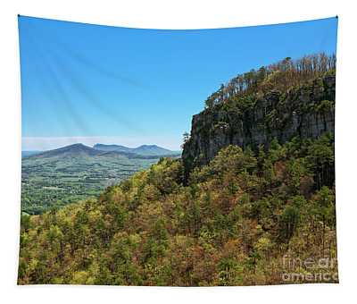 Spring At Pilot Mountain Tapestry