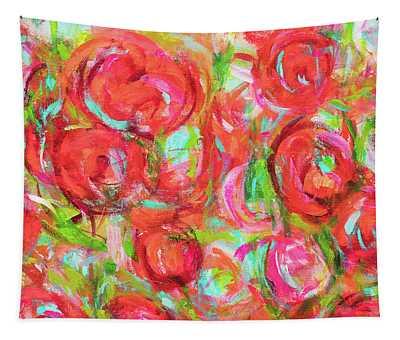 Spring Blossom In The Garden Tapestry