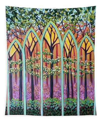 Spring Cathedral Tapestry