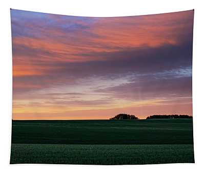 Spring Crops Tapestry