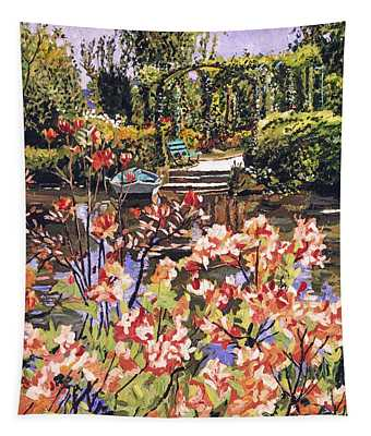 Spring Day In Giverny Tapestry