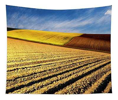 Spring Fields Tapestry