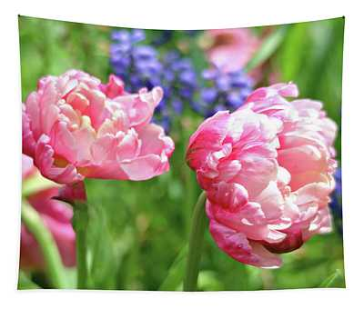 Spring Isn't Spring Without Tulips Tapestry