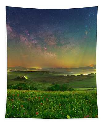 Spring Memories Tapestry