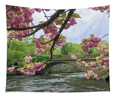 Spring Time In Windham  Tapestry