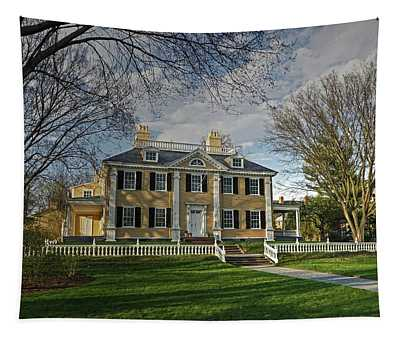 Springtime At Longfellow House Tapestry