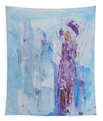 Spunky Angel Tapestry