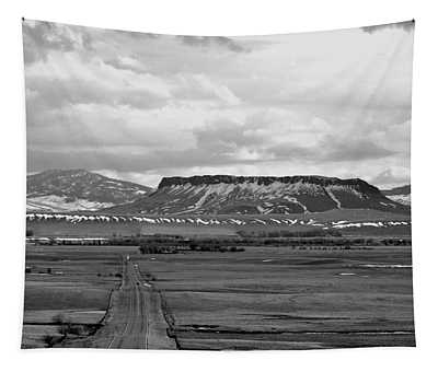 Square Butte Chouteau County  Tapestry