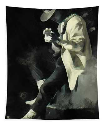 Srv Yellow Blazer Tapestry
