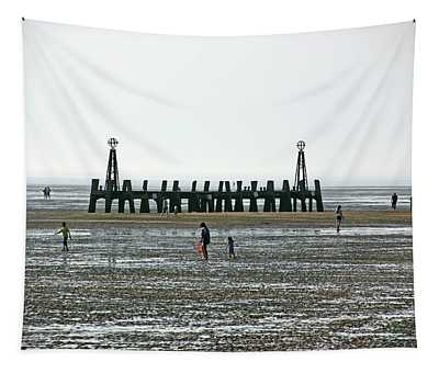 St. Annes. On The Beach. Tapestry
