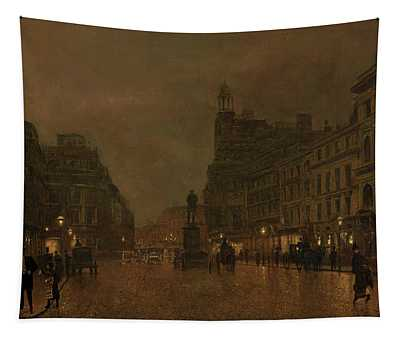 St Anne's Square And Exchange Manchester Tapestry