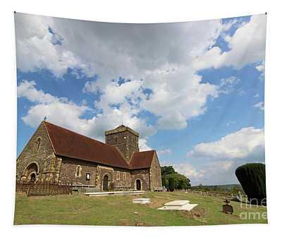 St Marthas Church Surrey England Uk Tapestry