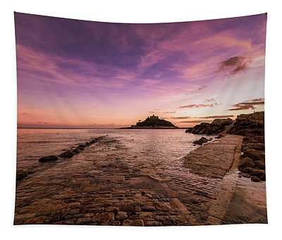 St Michael's Mount - January Tapestry
