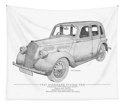 Standard Flying Ten Saloon Tapestry