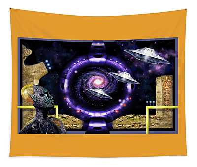 Star-gate Restored Tapestry