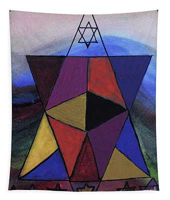Star Of David Magen David Tapestry