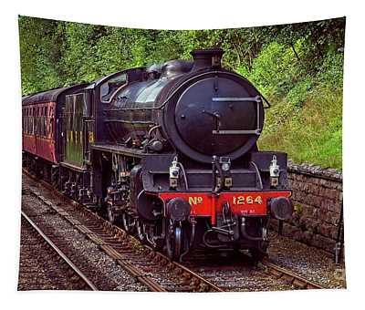 Steam Locomotive Tapestry