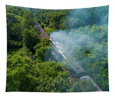 Steaming Away Tapestry