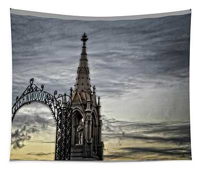 Steeple And Steel Tapestry